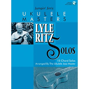 Flea-Market-Music-Jumpin--Jim-s-Ukulele-Masters--Lyle-Ritz-Solos--Book-CD--Standard