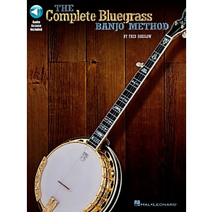 Hal-Leonard-The-Complete-Bluegrass-Banjo-Method--Book-CD--Standard