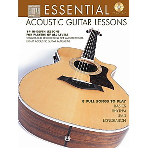 String-Letter-Publishing-Essential-Acoustic-Guitar-Lessons--Book-CD--Standard