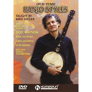 Homespun-Old-Time-Banjo-Styles--DVD--Standard