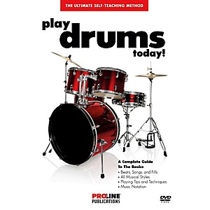 ProLine-Play-Drums-Today---DVD--Standard