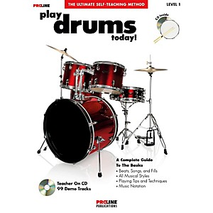 ProLine-Play-Drums-Today---Book-CD--Standard