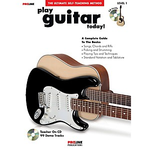 ProLine-Play-Guitar-Today---Book-CD--Standard