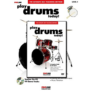 ProLine-Play-Drums-Today---Book-DVD-Pack--Standard