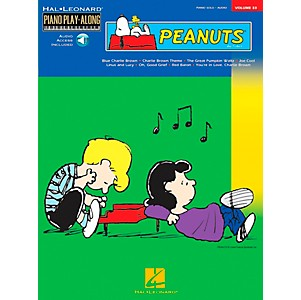 Hal-Leonard-Peanuts-Piano-Play-Along-Volume-33-Book-with-CD--Standard