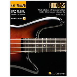 Hal-Leonard-Funk-Bass-Method-Book---CD--Standard