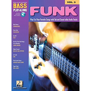 Hal-Leonard-Funk-Bass-Play-Along-Series-Book-with-CD--Standard