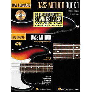 Hal-Leonard-Bass-Method-Beginner-s-Pack--Book-CD-DVD--Standard