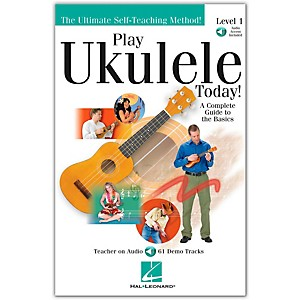 Hal-Leonard-Play-Ukulele-Today-Level-One--Book-CD--Standard