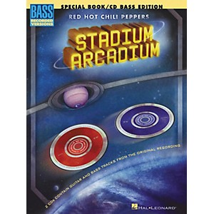Hal-Leonard-Red-Hot-Chili-Peppers-Stadium-Arcadium-Special-Edition-Bass-Guitar-Tab-Songbook-with-2-CDs--Standard
