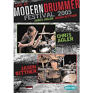 Hudson-Music-Chris-Adler-and-Jason-Bittner---Live-at-Modern-Drummer-Festival-2005-DVD-Standard