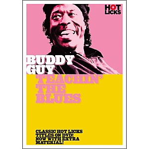 Music-Sales-Buddy-Guy--Teachin--the-Blues-DVD-Standard