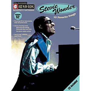Hal-Leonard-Stevie-Wonder---Jazz-Play-Along--Volume-52--Book-CD--Standard