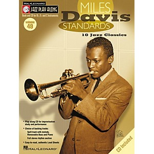 Hal-Leonard-Miles-Davis-Standards---Jazz-Play-Along-Volume-49-Book-with-CD-Standard