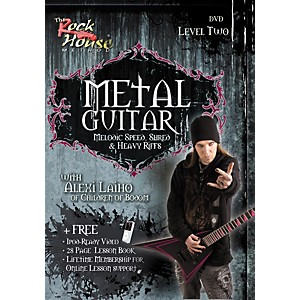 Rock-House-Metal-Guitar-Melodic-Speed--Shred---Heavy-Riffs-Level-2-With-Alexi-Laiho-of-Children-of-Bodom-DVD-Standard