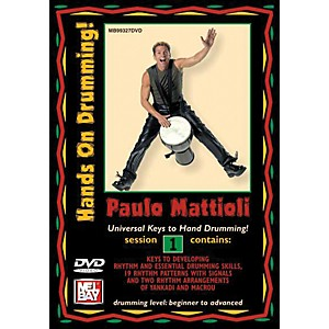 Mel-Bay-Hands-On-Drumming--DVD--Session-1-Standard