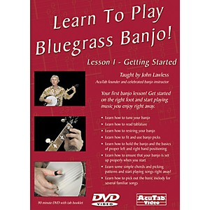 Mel-Bay-Learn-to-Play-Bluegrass-Banjo-DVD--Lesson-1---Getting-Started-Standard