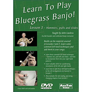 Mel-Bay-Learn-to-Play-Bluegrass-Banjo-DVD---Lesson-3--Hammers--Pulls----Slides-Standard
