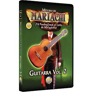 Mel-Bay-Metodo-De-Mariachi-Guitarra-DVD--Volume-2---Spanish-Only-Standard