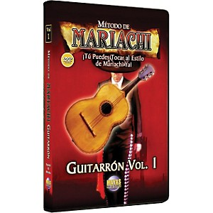Mel-Bay-Metodo-De-Mariachi-Guitarron-DVD--Volume-1---Spanish-Only-Standard
