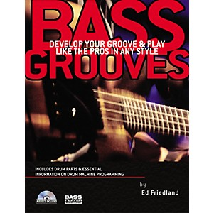 Backbeat-Books-Bass-Grooves--Book-CD--Standard