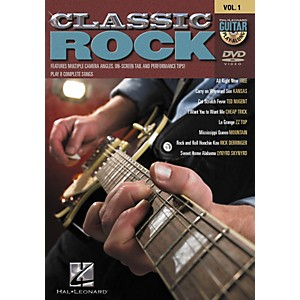 Hal-Leonard-Classic-Rock-Guitar-Play-Along-DVD-Series---Volume-1-Standard