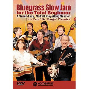 Homespun-Bluegrass-Slow-Jam-for-the-Total-Beginner---Any-Instrument--DVD--Standard