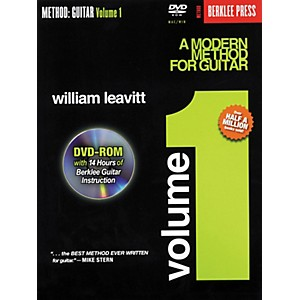 Berklee-Press-A-Modern-Method-for-Guitar---Volume-1--Book-DVD-Rom--Standard