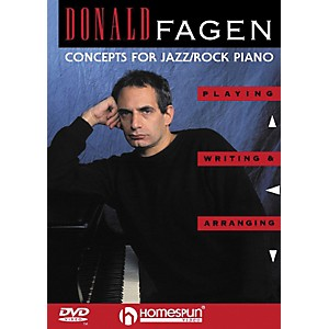 Homespun-Donald-Fagen---Concepts-for-Jazz-Rock-Piano--DVD--Standard