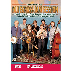 Homespun-Intermediate-Bluegrass-Jam-Session-for-Any-Instrument-Play-Along--DVD--Standard