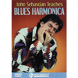 Homespun-John-Sebastian-Teaches-Blues-Harmonica--DVD--Standard