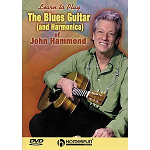 Homespun-The-Blues-Guitar---Harmonica-of-John-Hammond--DVD--Standard