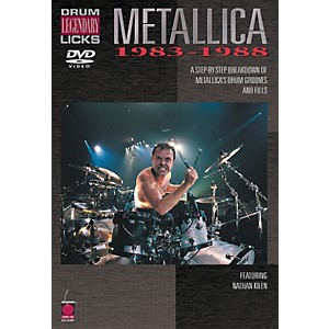 Cherry-Lane-Metallica---Drum-Legendary-Licks-1983-1988-DVD-Standard