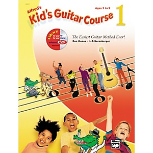 Alfred-Kid-s-Guitar-Course-1--Book-CD--Standard