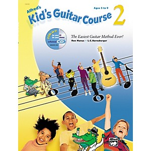 Alfred-Alfred-s-Kid-s-Guitar-Course-2--Book-CD--Standard