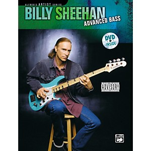 Alfred-Billy-Sheehan--Advanced-Bass--Book-DVD--Standard