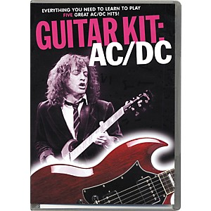Music-Sales-AC-DC-Guitar-Kit--DVD-CD-Book--Standard