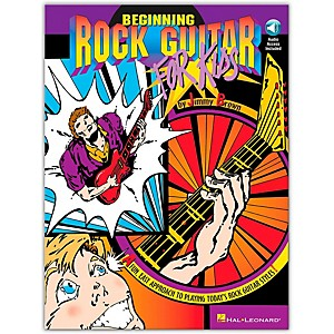 Hal-Leonard-Beginning-Rock-Guitar-for-Kids--Book-CD--Standard