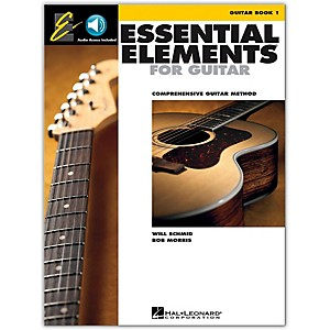 Hal-Leonard-Essential-Elements-for-Guitar--Book-1--Book-and-CD-Package--Standard