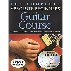 Music-Sales-Complete-Absolute-Beginners-Guitar-Course--Book-CD-DVD--Standard