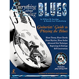 Music-Sales-Everything-About-Playing-Blues--Book-CD--Standard