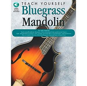 Music-Sales-Teach-Yourself-Bluegrass-Mandolin--Book-CD--Standard