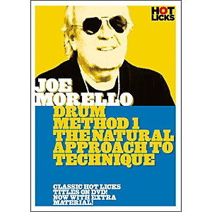 Hot-Licks-Joe-Morello-Drum-Method-1--The-Natural-Approach-to-Technique--DVD--Standard