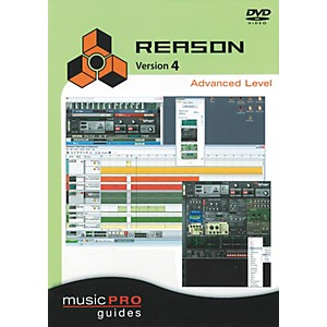 Hal-Leonard-Reason-4-Advanced-Level---Music-Pro-Series--DVD--Standard