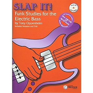 Theodore-Presser-Slap-It--Funk-Studies-for-the-Electric-Bass--Book-CD--Standard