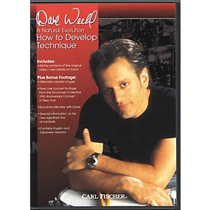 Carl-Fischer-A-Natural-Evolution--How-to-Develop-Technique-by-Dave-Weckl-DVD-Standard