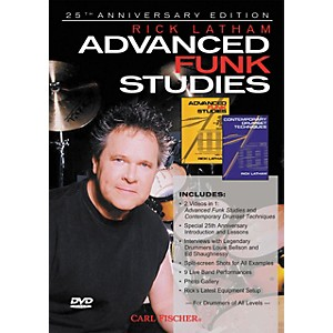 Carl-Fischer-Advanced-Funk-Studies-for-Drums--DVD--Standard