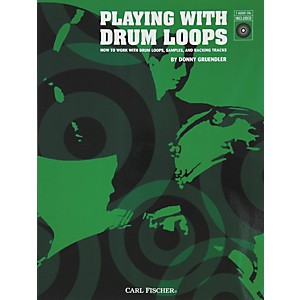 Carl-Fischer-Playing-with-Drum-Loops--Book-CDs--Standard