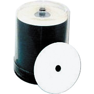 Taiyo-Yuden-4-7GB-DVD-R--8X--White-Thermal--Everest-Hub-Printable--100-Disc-Spindle-Standard