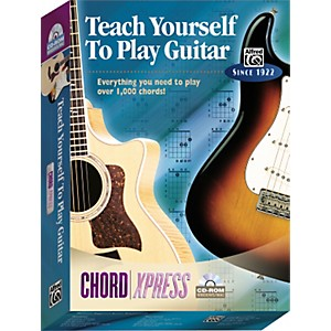 Alfred-Teach-Yourself-To-Play-Guitar--ChordXpress-CD-ROM-Standard